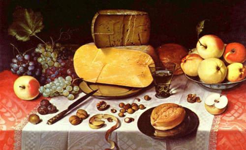 Floris van Dyck still life
