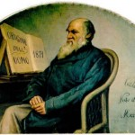painting of Charles Darwin
