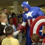 superhero handshake