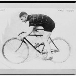 Norman Anderson on Racing Bicycle, 1914