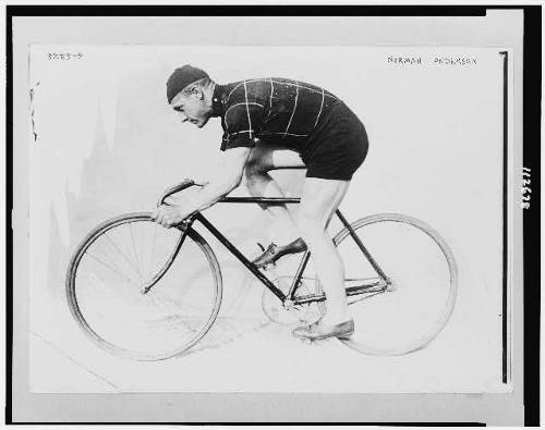 1914 bicycle racer