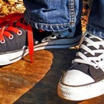 individuality - contrasting shoelaces