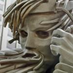 King Lear sculpture