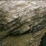 eroding seaside cliff