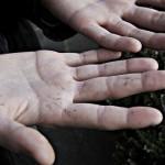 work hands