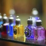 rainbow colored bottles