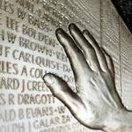 Silver coin, Vietnam Memorial