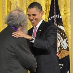 Donald Hall and Obama